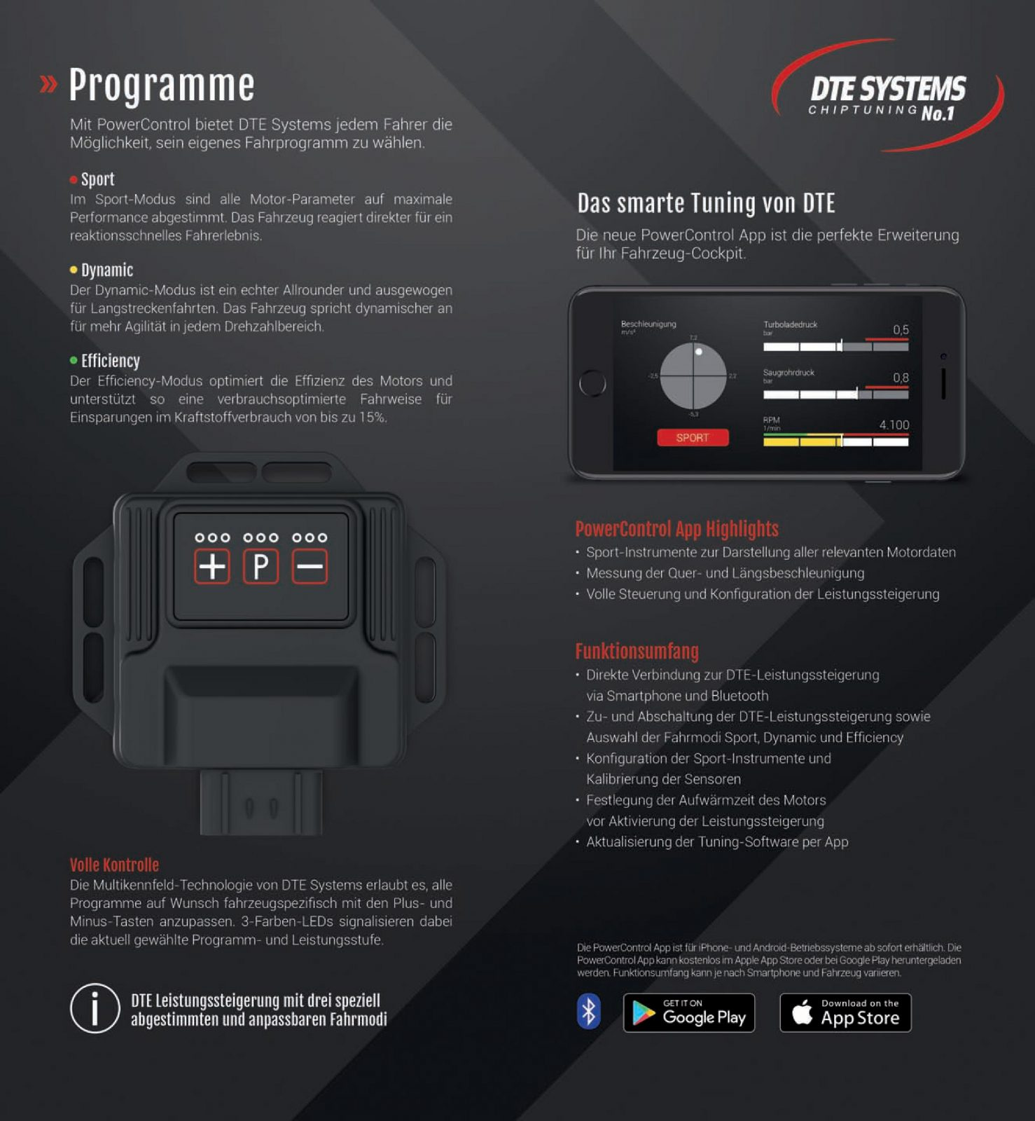 PedalBox Gaspedal-Tuning von DTE Systems